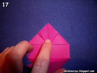 Сердечки-валентинки оригами из бумаги для украшения подарка (17) (320x240, 51Kb)
