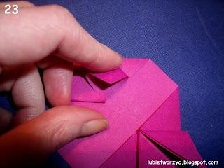 Сердечки-валентинки оригами из бумаги для украшения подарка (25) (320x240, 56Kb)