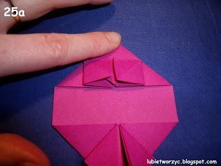 Сердечки-валентинки оригами из бумаги для украшения подарка (29) (320x240, 50Kb)