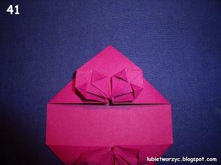 Сердечки-валентинки оригами из бумаги для украшения подарка (47) (320x240, 55Kb)