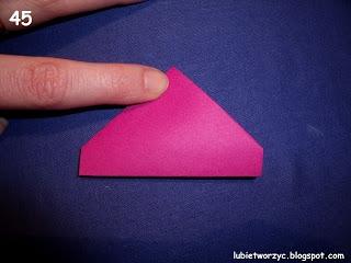 Сердечки-валентинки оригами из бумаги для украшения подарка (51) (320x240, 52Kb)