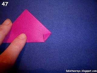 Сердечки-валентинки оригами из бумаги для украшения подарка (53) (320x240, 52Kb)