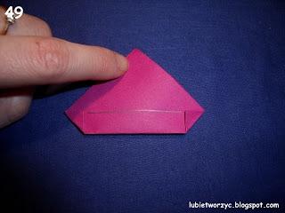 Сердечки-валентинки оригами из бумаги для украшения подарка (55) (320x240, 50Kb)