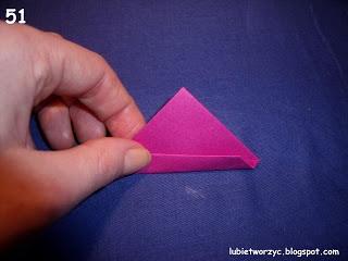 Сердечки-валентинки оригами из бумаги для украшения подарка (57) (320x240, 48Kb)