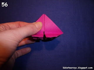 Сердечки-валентинки оригами из бумаги для украшения подарка (63) (320x240, 36Kb)