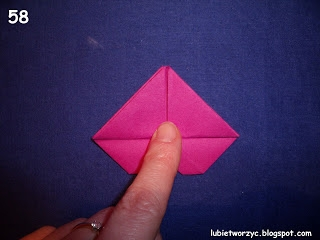 Сердечки-валентинки оригами из бумаги для украшения подарка (65) (320x240, 43Kb)
