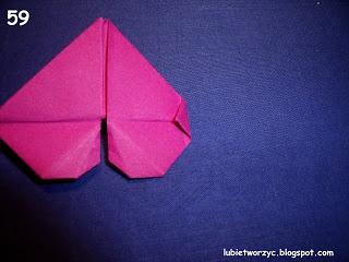 Сердечки-валентинки оригами из бумаги для украшения подарка (67) (320x240, 57Kb)