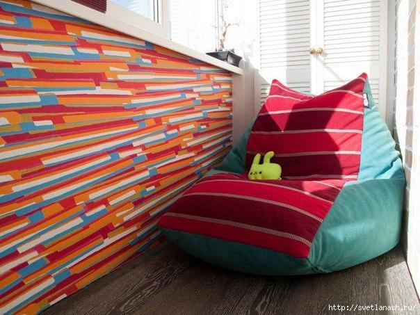 Как сшить детское кресло выкройка