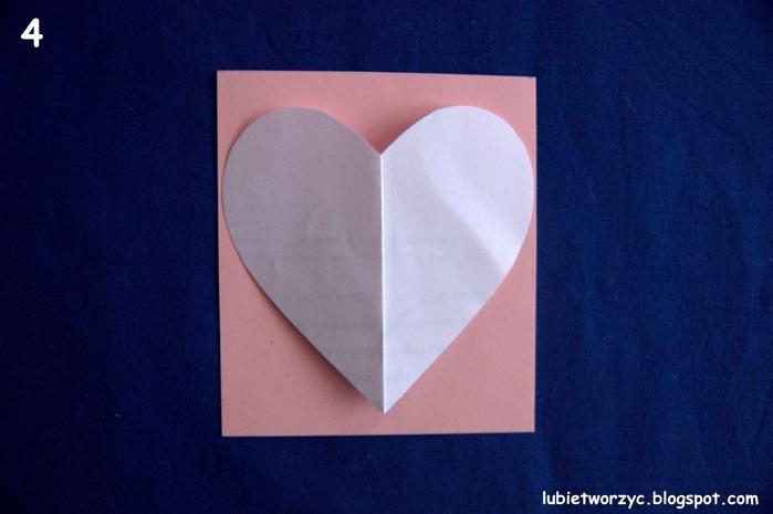 Валентинка из бумажных розочек для создания панно или открытки ручной работы (3) (700x465, 188Kb)