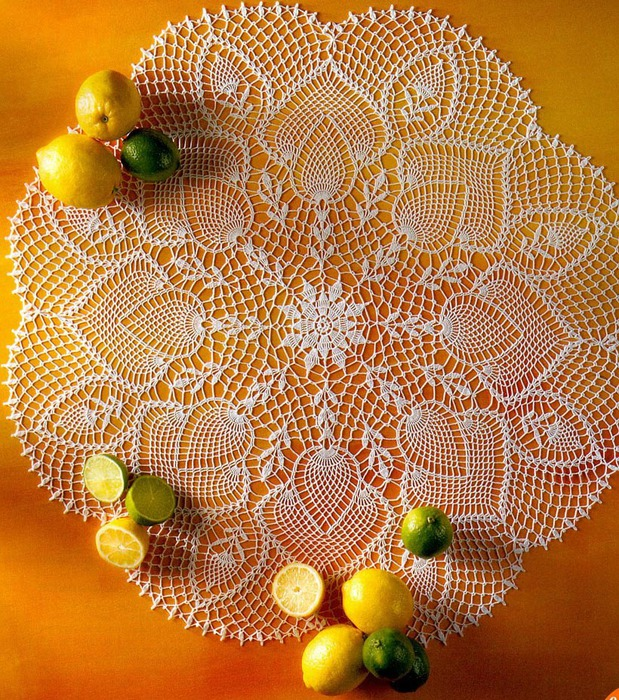 菠萝花桌巾 - maomao - 我随心动