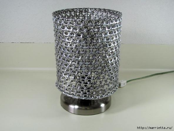 Креативный абажур из баночных ключей. Мастер-класс (1) (592x444, 156Kb)