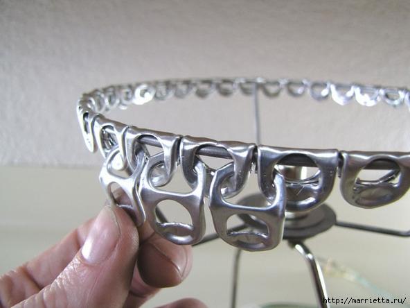 Креативный абажур из баночных ключей. Мастер-класс (12) (592x444, 136Kb)