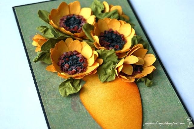 Цветы из бумаги. ПОДСОЛНУХИ (20) (640x426, 193Kb)