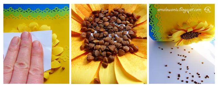 Цветы из бумаги. ПОДСОЛНУХИ (25) (700x284, 157Kb)