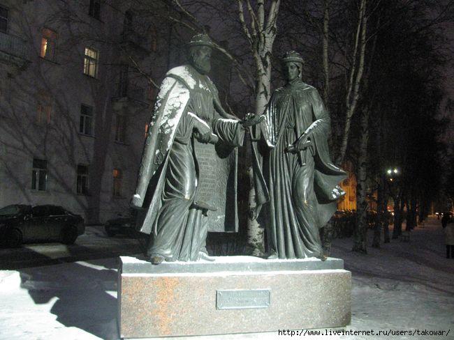 Архангельск. Пётр и Феврония/1413032_ (650x488, 158Kb)