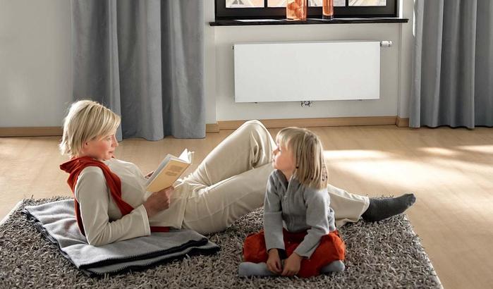 Отопление - как обеспечить здоровый микроклимат в доме