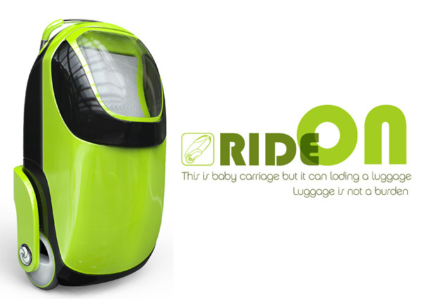 Ride On - гибрид чемодана и коляски.