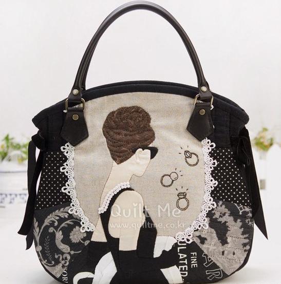 сумочка с дамочкой