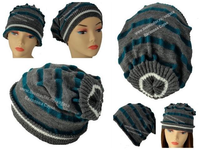 модель женской шапки на весну