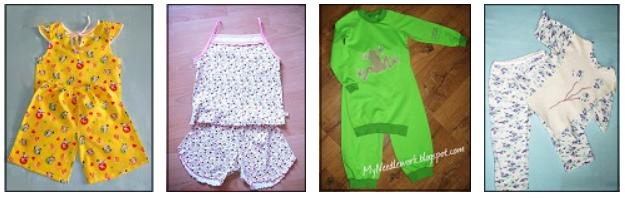 Сшить годовалому ребенку пижаму 72
