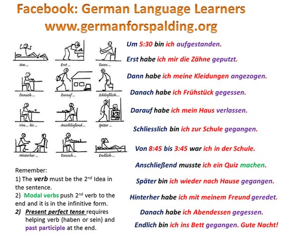 тема знакомства на немецком языке с переводом