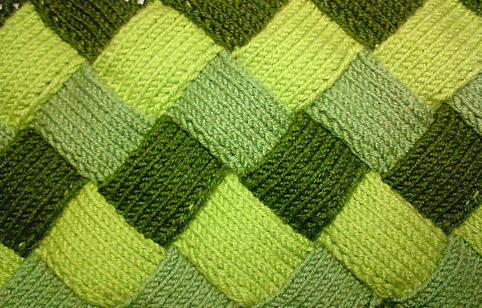 Вязание спицами-энтерлак