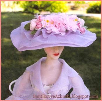 Шляпка из бумаги для куклы своими руками мастер класс