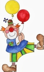 Превью Clown%2520with%2520Balloons (312x512, 67Kb)