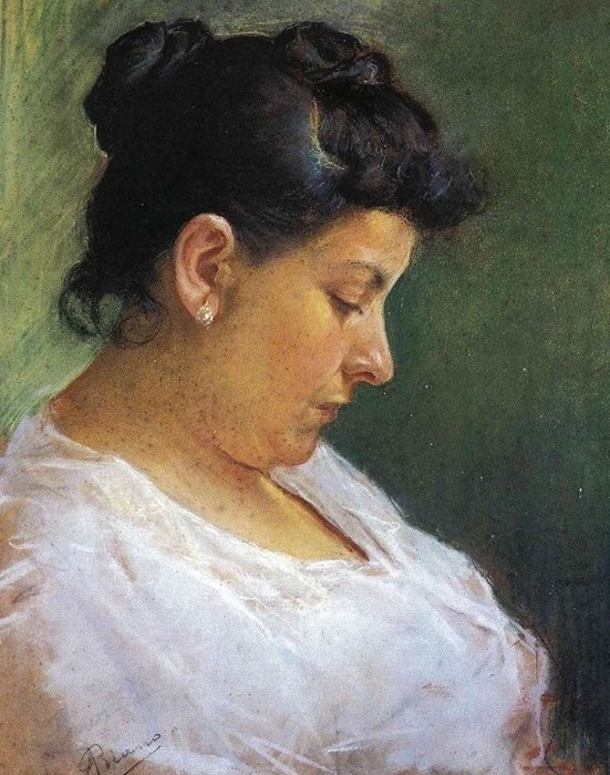 001_portrait-of-the-artist-s-mother-1896_thumb (551x700, 298Kb)