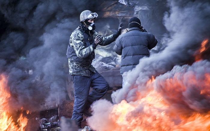 Беспорядки в Украине