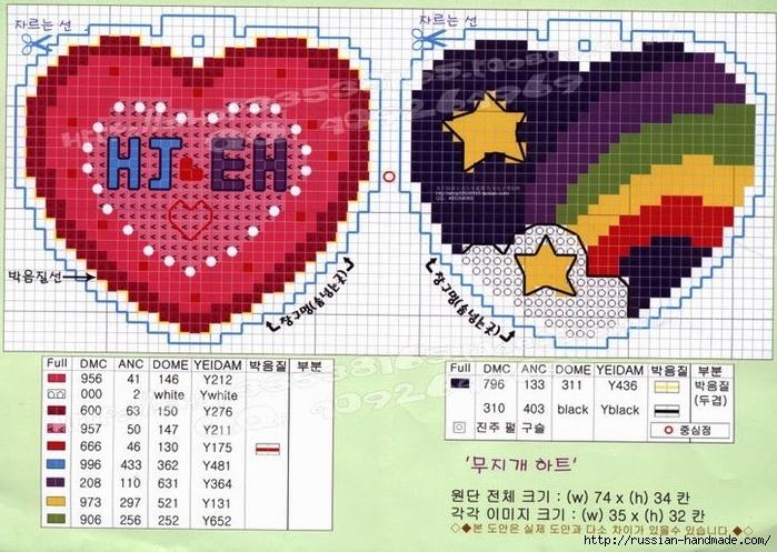 Схемы вышивки для валентинок (3) (700x497, 318Kb)