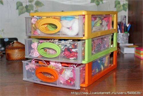 Коробка для хранения резинок
