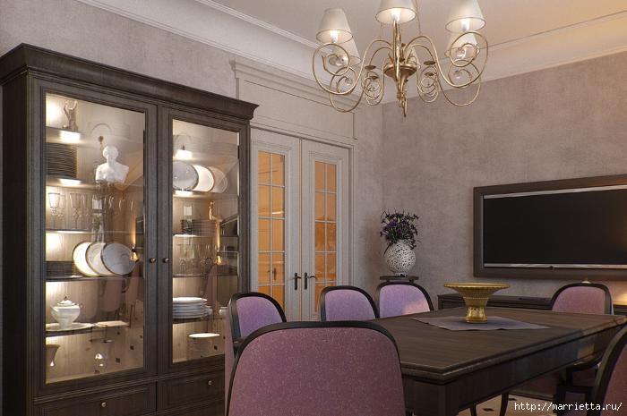Сиреневый цвет в интерьере. Стильный дизайн (9) (700x465, 148Kb)