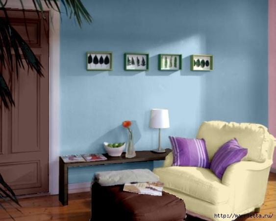 Сиреневый цвет в интерьере. Стильный дизайн (19) (563x450, 124Kb)