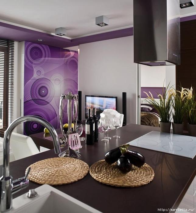 Сиреневый цвет в интерьере. Стильный дизайн (21) (644x700, 280Kb)