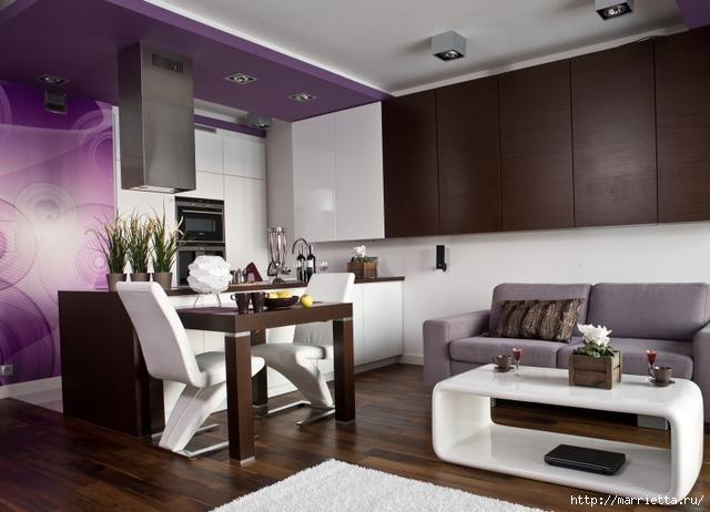 Сиреневый цвет в интерьере. Стильный дизайн (23) (640x462, 120Kb)
