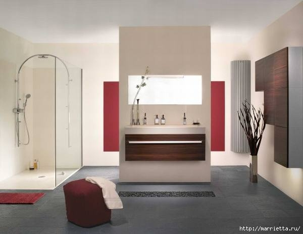 Сиреневый цвет в интерьере. Стильный дизайн (57) (600x462, 81Kb)