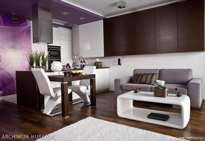 Сиреневый цвет в интерьере. Стильный дизайн (65) (680x466, 144Kb)