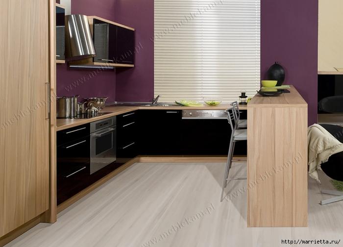 Сиреневый цвет в интерьере. Стильный дизайн (67) (700x504, 207Kb)