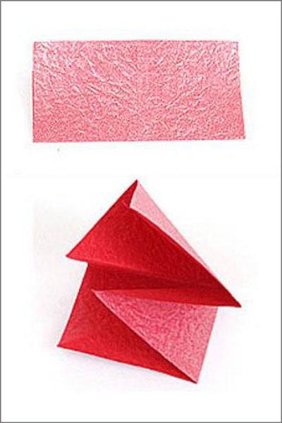 Коробка шоколадок в подарок. Обертка-оригами для конфет  (1) (400x600, 106Kb)