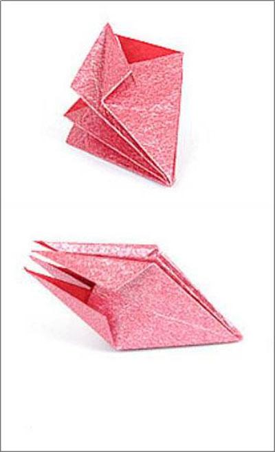 Коробка шоколадок в подарок. Обертка-оригами для конфет  (3) (400x656, 83Kb)
