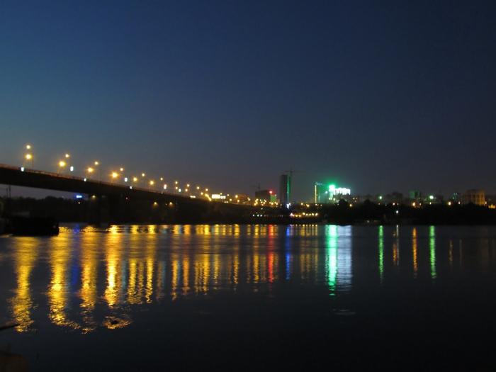 Новосибирск, фото Новосибирска, ночной Новосибирск, мост, Димитровский мост/4203019_IMG_3394 (700x525, 188Kb)