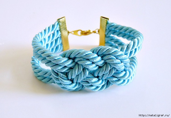 Браслет сделать браслет из веревки своими руками