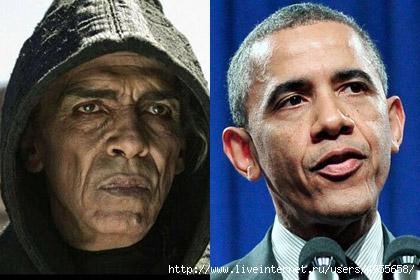 сатана-Мохамена Мехди Оуазани - Обама (420x280, 96Kb)