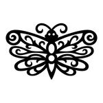 ������ butterfly stencil (2) (700x700, 119Kb)