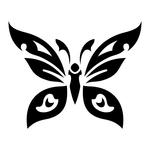 Превью butterfly stencil (6) (700x700, 84Kb)