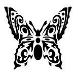 ������ butterfly stencil (9) (700x700, 140Kb)