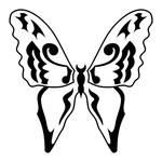 Превью butterfly stencil (13) (700x700, 120Kb)
