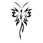������ butterfly stencil (15) (700x700, 69Kb)
