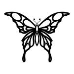 Превью butterfly stencil (17) (700x700, 97Kb)